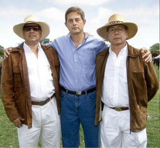 Fernando Luna Victoria, Georgio Battistini y Julio Izquierdo García