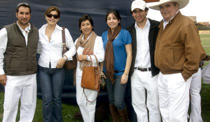 Javier Ponce Salcero, Silvia De Vásquez, Blanca De Ponce, María Luisa Vásquez, Rodrigo Ponce y Javier Ponce Riofrío