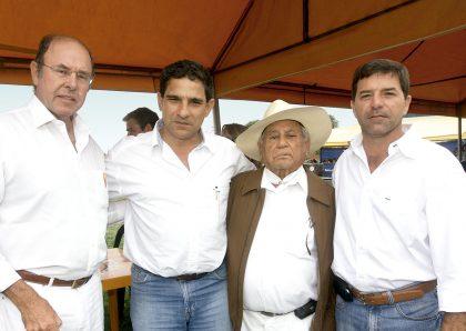 Juan Francisco Helguero, Carlos Bertini, Salvador Espinoza y Luis Artadi