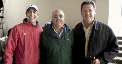 David Levy, José Gamarra y José Ruiz