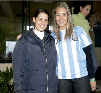 Carolina Gómez y Carolina Rocabado