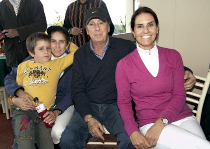 Joaquín Diez Canseco, Claudia Rizo Patrón, Jaime Graña y Adela De Graña