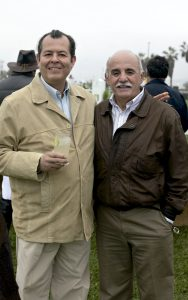 Miguel Santa María y Fernando Iglesias
