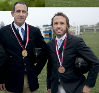 Sergio Stock y Alonso Valdez