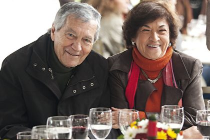 Alfredo Bullard y Renee de Bullard