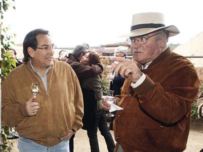 Álvaro Benavides y Fernando Puga
