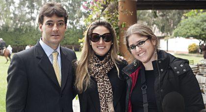 Carlos Felipe Rizo Patrón, Andrea Carulla y María Eugenia Puga