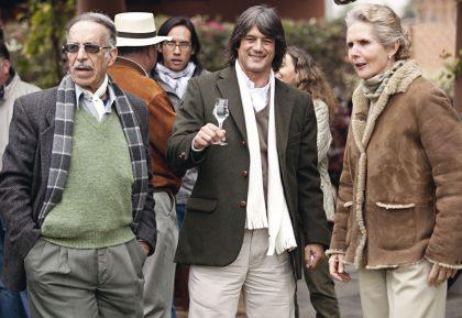 Domingo DelgIudice, Enrique Blaksley y Elsa de Puga