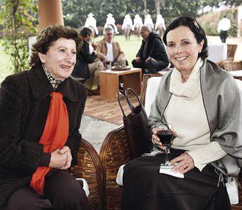 Helena Donofrio y Susana Aramburú
