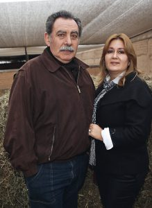 Hernán Velarde y Diana Noya