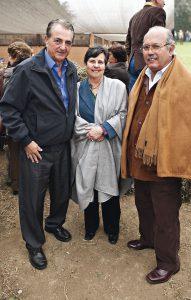 Manuel Salazar, Inés De Salazar y Rafael Puga