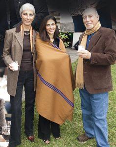 Nancy De Aguirre, Aisha Davir y Luis Risso