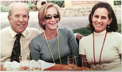 Reunión Moreyra, 2003. Mario Brescia, Ana María Moreyra y Marilú Wiese