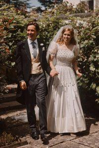 Princesa Beatriz: vestido de novia