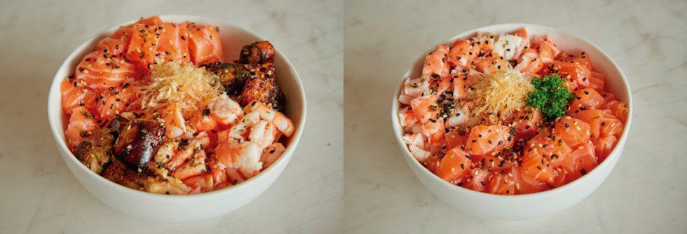 Sushi Bowl Lux y Sushi Bowl Pro