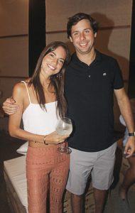 Carolina Cubas y Calixto Romero