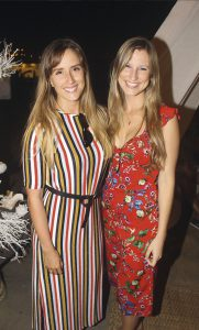 Lexa Costa Lima y Lisbeth Moebius