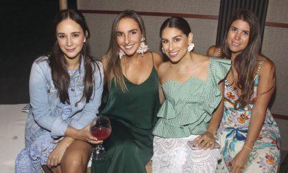 Lucía Rubio, Stefanie Wiegering, Flavia Bueno y Andrea Bustamante