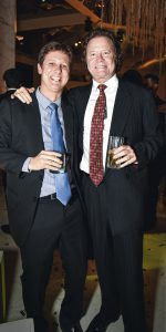 Alberto Piaggio y Guillermo Gulman.