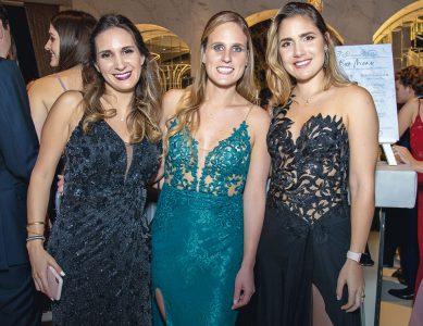 Alexandra Posso, Danissa Zurek y Talía Rojas.