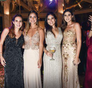 Alexandra Posso, Karina Brain, Andrea Paredes y Daniela Macedo.