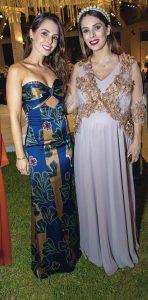 Camila y Ariana Santillana.