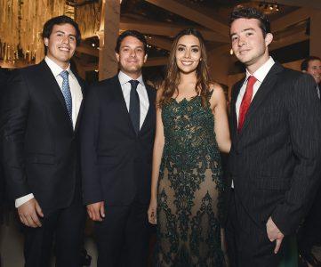 Diego Gutiérrez, Mauricio Urbina, Andrea Ibárcena y Alfredo Ducassi.