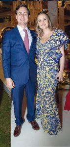Francesco Piaggio y Daniela Hunt.