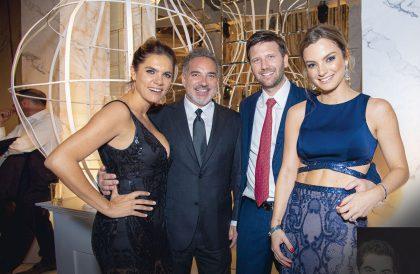 Francisca Cummins, Ignacio Gonzales, Emilio Rodríguez Larraín y Christine Schnyder.