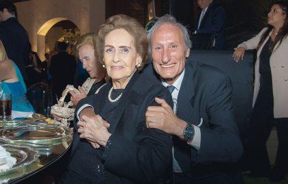 Mercedes Díaz y Carlos Valdez.