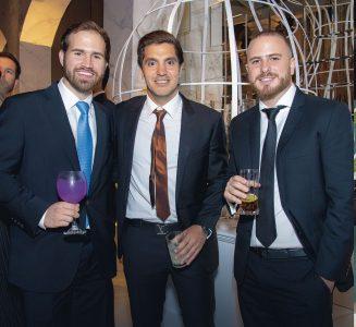 Pablo Talledo, Jaime Herrera y Roby Dickson