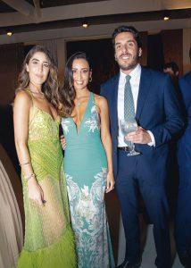 Yahel Waisman, Mónica Gallese y Luis Miró Quesada.