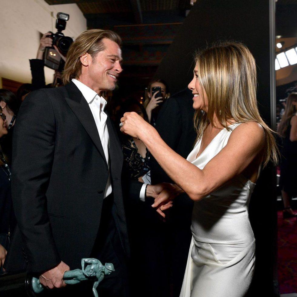 Brad Pitt y Jennifer Aniston (4)