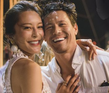 Kelly Chang y Mark Brunjes.