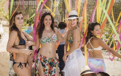 Kathy Boyanovich, Laura Ramos, Stephanie Cayo y Natalia Reyes.