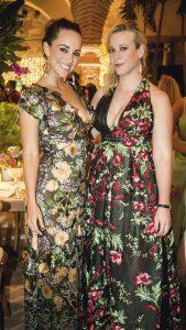 María Elisa Camargo y Alexandra Leight.