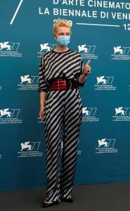 Cate Blanchett, de Giorgio Armani en Venecia