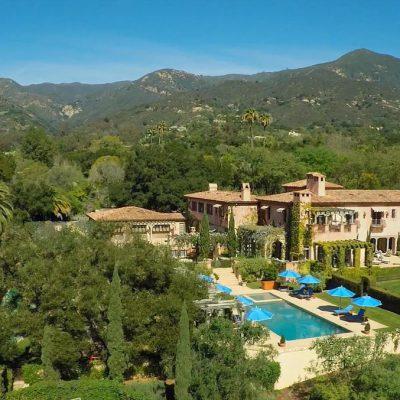 La nueva residencia de los Sussex en Santa Bárbara, California.