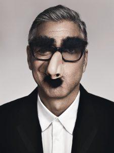 George Clooney, en lo que probablemente sea uno de sus retratos más descontracturados.