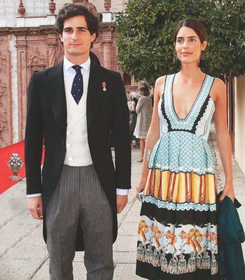 Sofía Palazuelo y Fernando Fitz-James primera hija 1