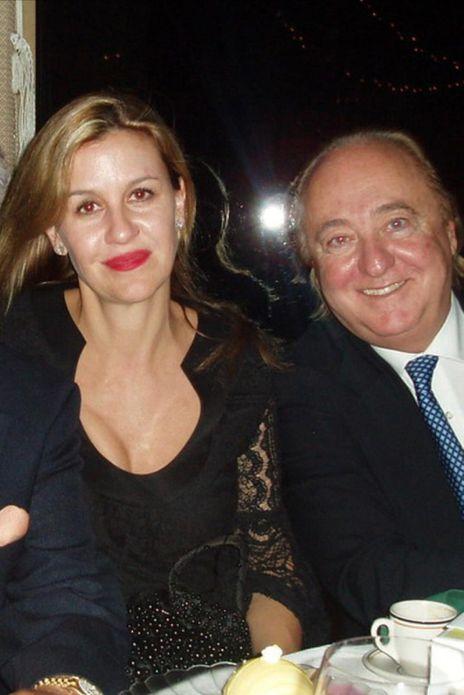 Patricia Gucci y su entonces esposo Joseph Ruffalo