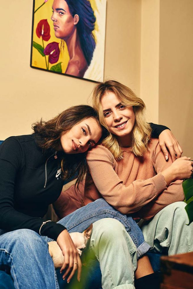Fefa Cox y Alejandra Resnikowski 2