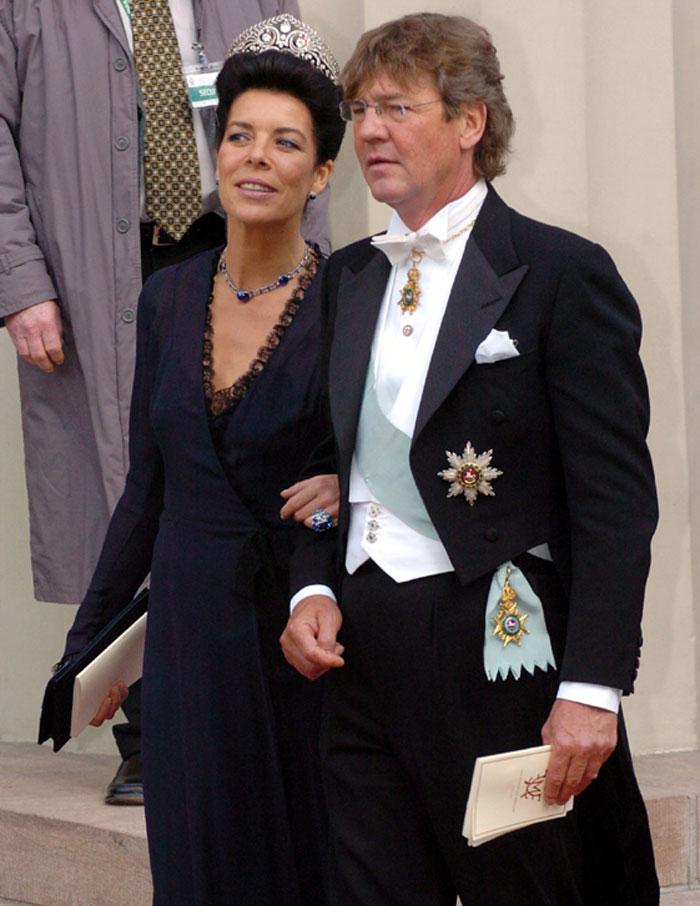Ernst de Hannover y Carolina de Mónaco