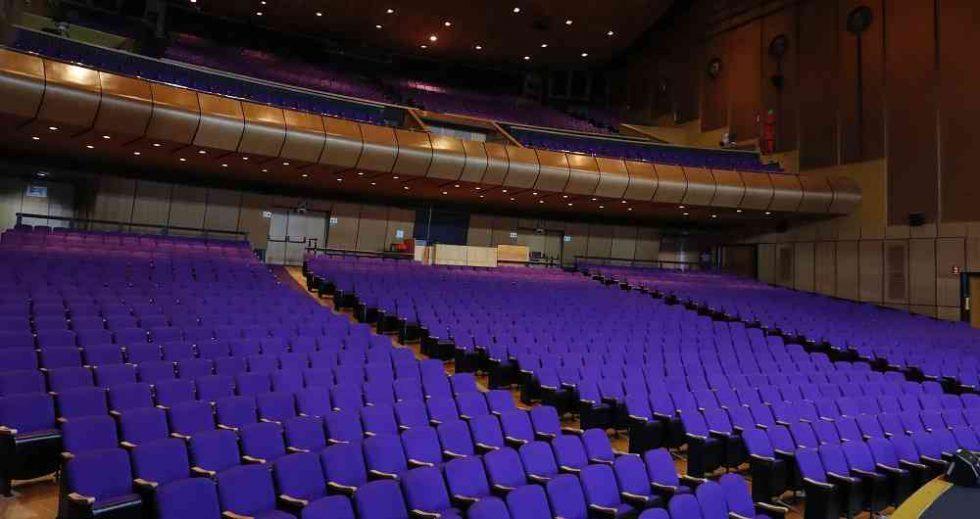 Colombia avala reapertura de cines y teatros con aforo máximo del 50%. Teatro Jorge Eliecer Gaitan.