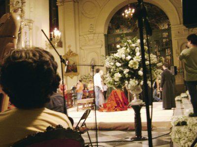 Ensayo general de la boda el día viernes 4 de abril a las 5 de la tarde.