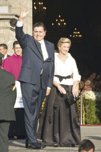Alan García y su esposa, Pilar Nores.