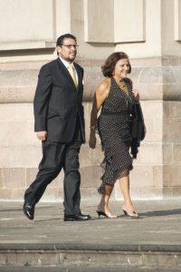 Hernando Torres y Marita Souza.