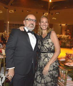 Beto Ortiz y Giulia Sammarco.