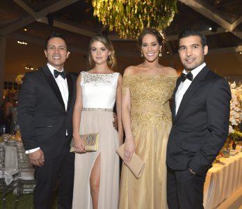 Renzo Costa, Brunella Horna, Karen Schwarz y Ezio Oliva