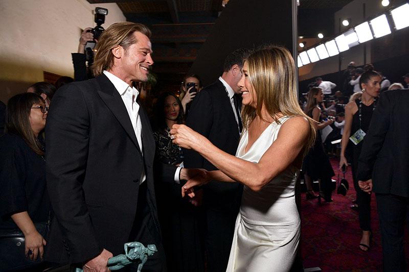Brad PittyJennifer Aniston
